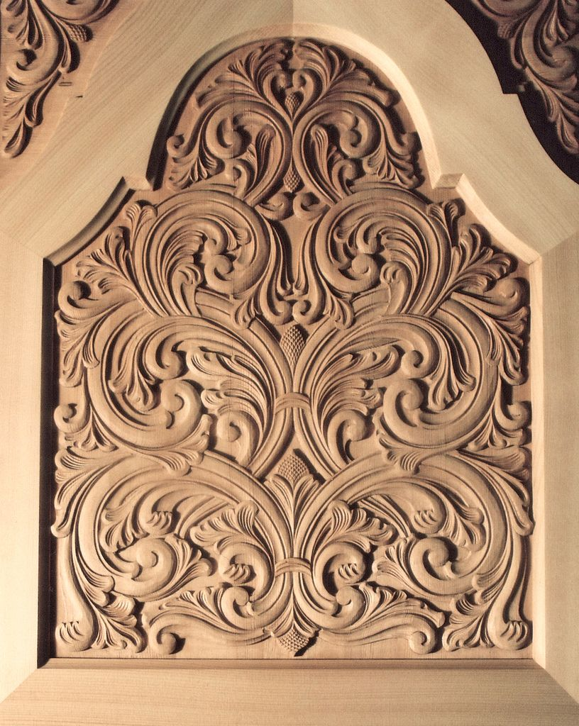 Øvre skapdør carving pinterest tableau en bois art