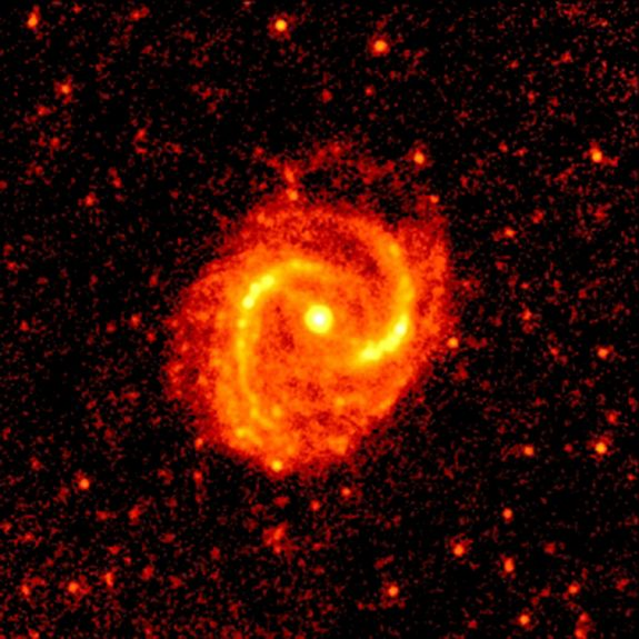 The Universe in Infrared: Flood of Galaxy Views to Hit Internet This Year