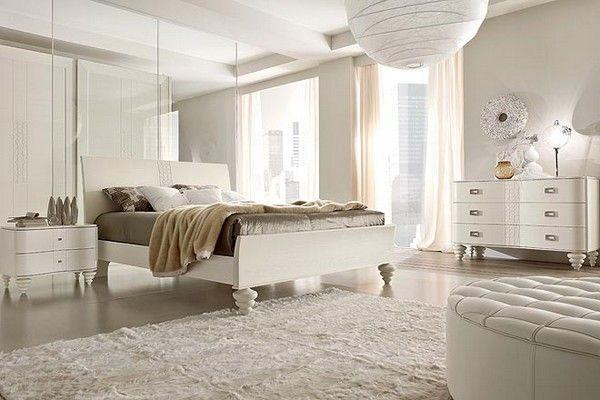 allwhite bedroom designitalian furniture