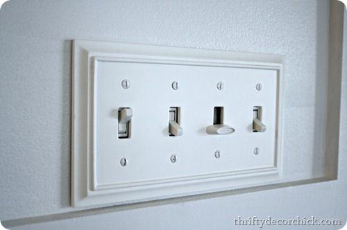 Light Switch Bling Home Upgrades Home Diy Home Improvement