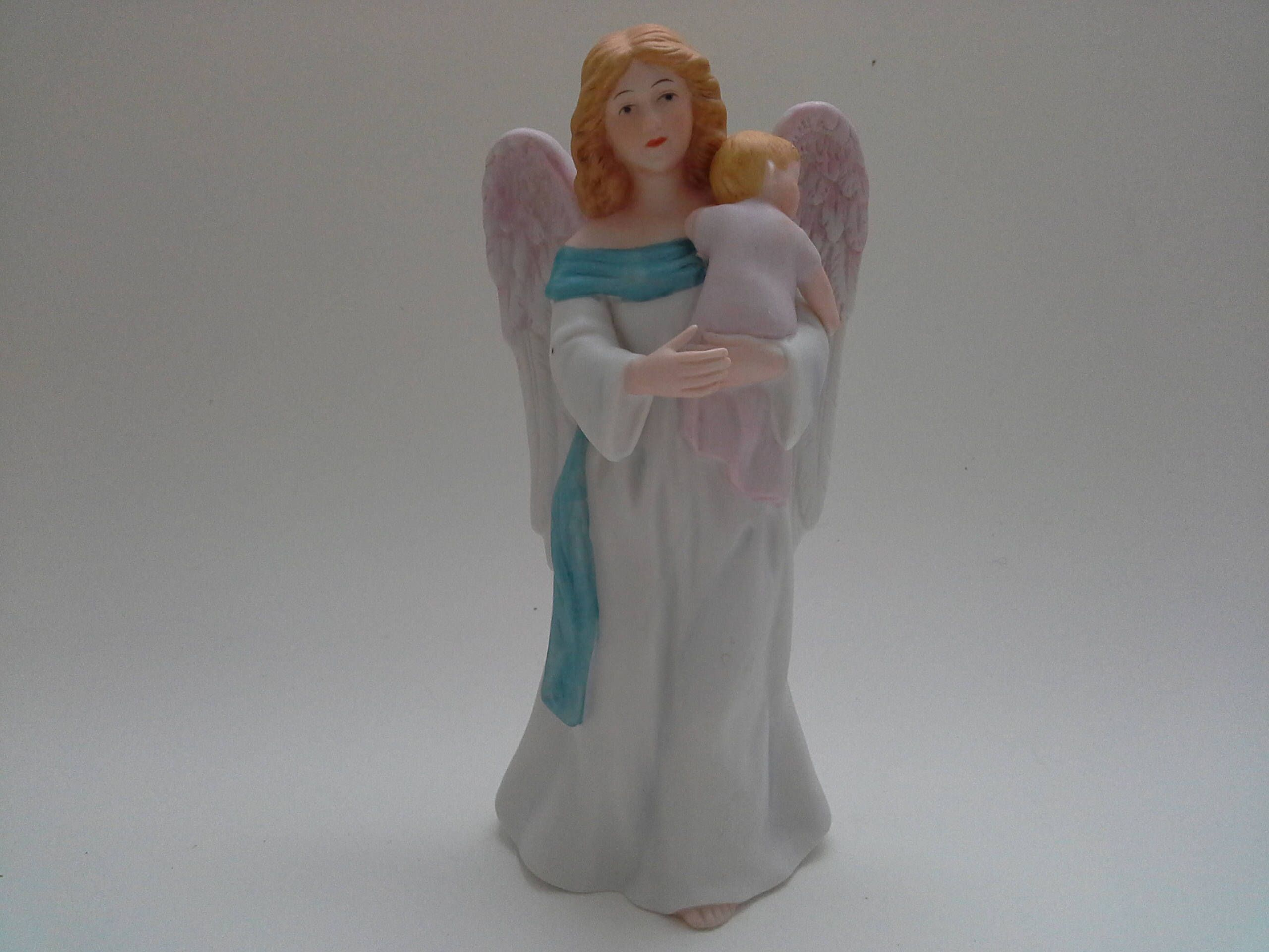 vintage homeco angel angel and baby angel figurine baby shower