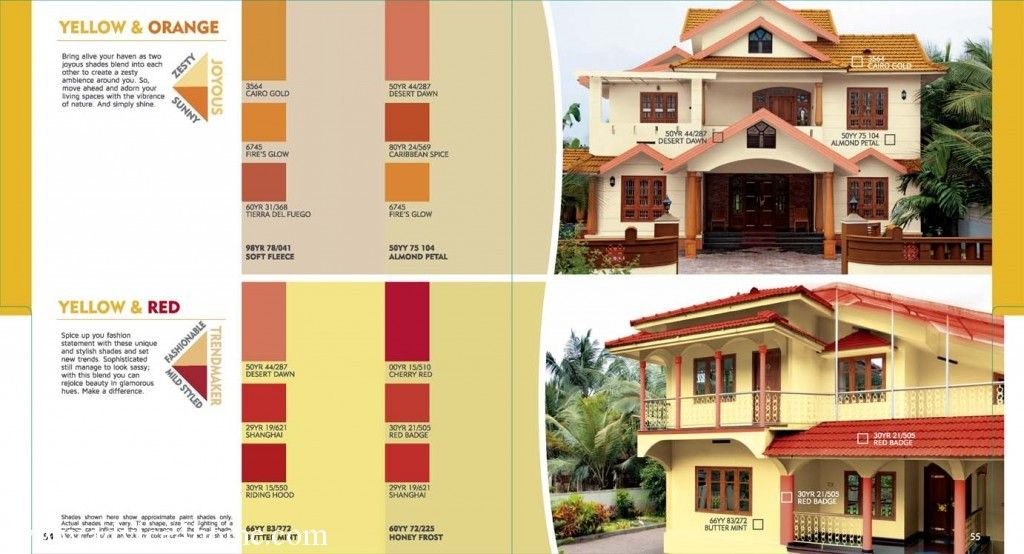 Happy Go Lucky Yellow Home Exteriors Colour Of Dulux