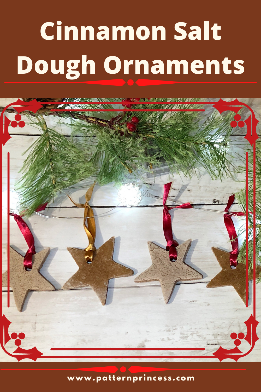 Cinnamon Salt Dough Ornaments Recipe Salt Dough Ornaments Christmas Crafts Salt Dough