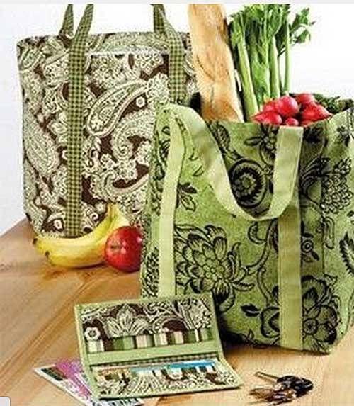 Market Bag Coupon Holder Free Sewing Pattern Coupon Holder