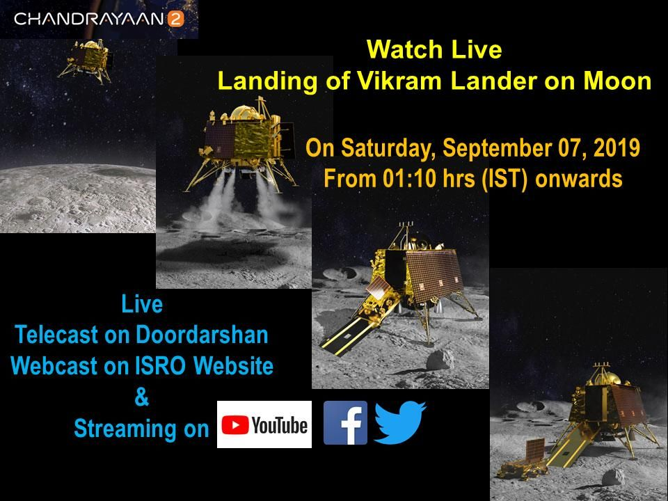 India S Moon Mission Moon Missions Indian History Webcast