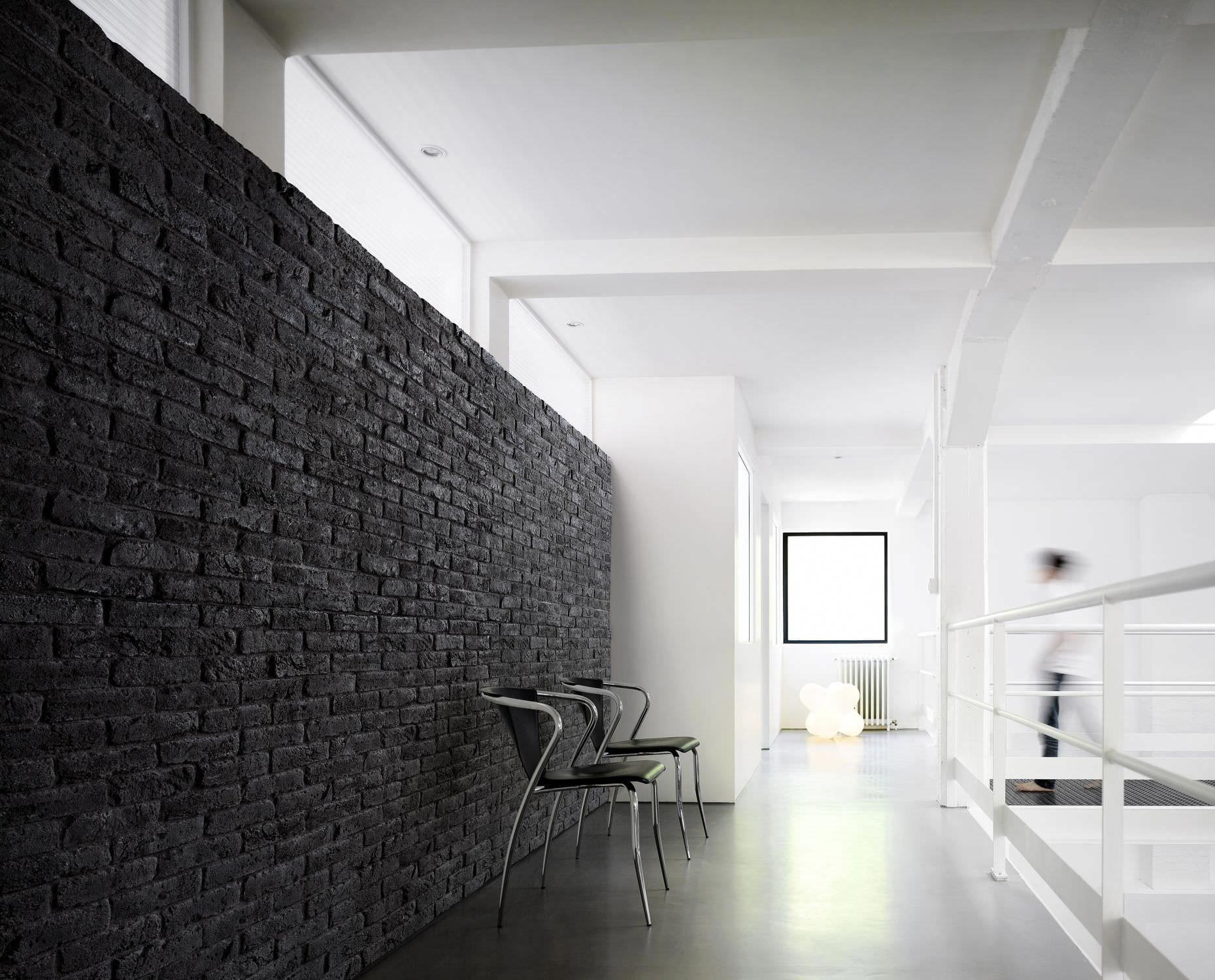 Interior Design Near Me Interiorjeeprenegade Interiorofficesigns Black Brick Wall Faux Brick Wall Panels Brick Wall Paneling