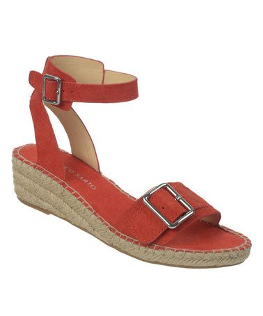 031dad06f2d4 Look what I found on  zulily! Paprika Lexie Leather Espadrille by Franco  Sarto  zulilyfinds