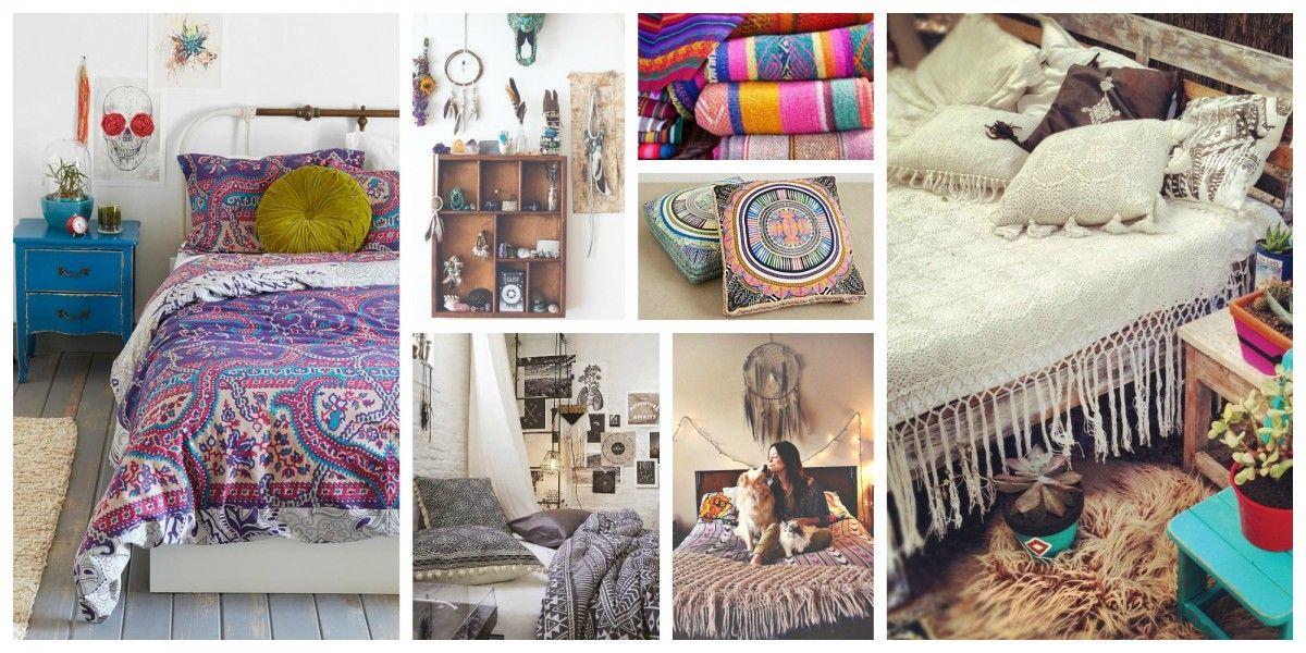 boheme deco | Des idées de design décoration chambre hippie chic ...