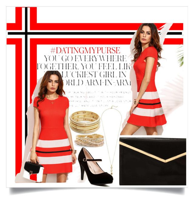 """""""The dress"""" by katiemax34 on Polyvore featuring Kate Spade, Cole Haan, Nanette Lepore and Torrid"""