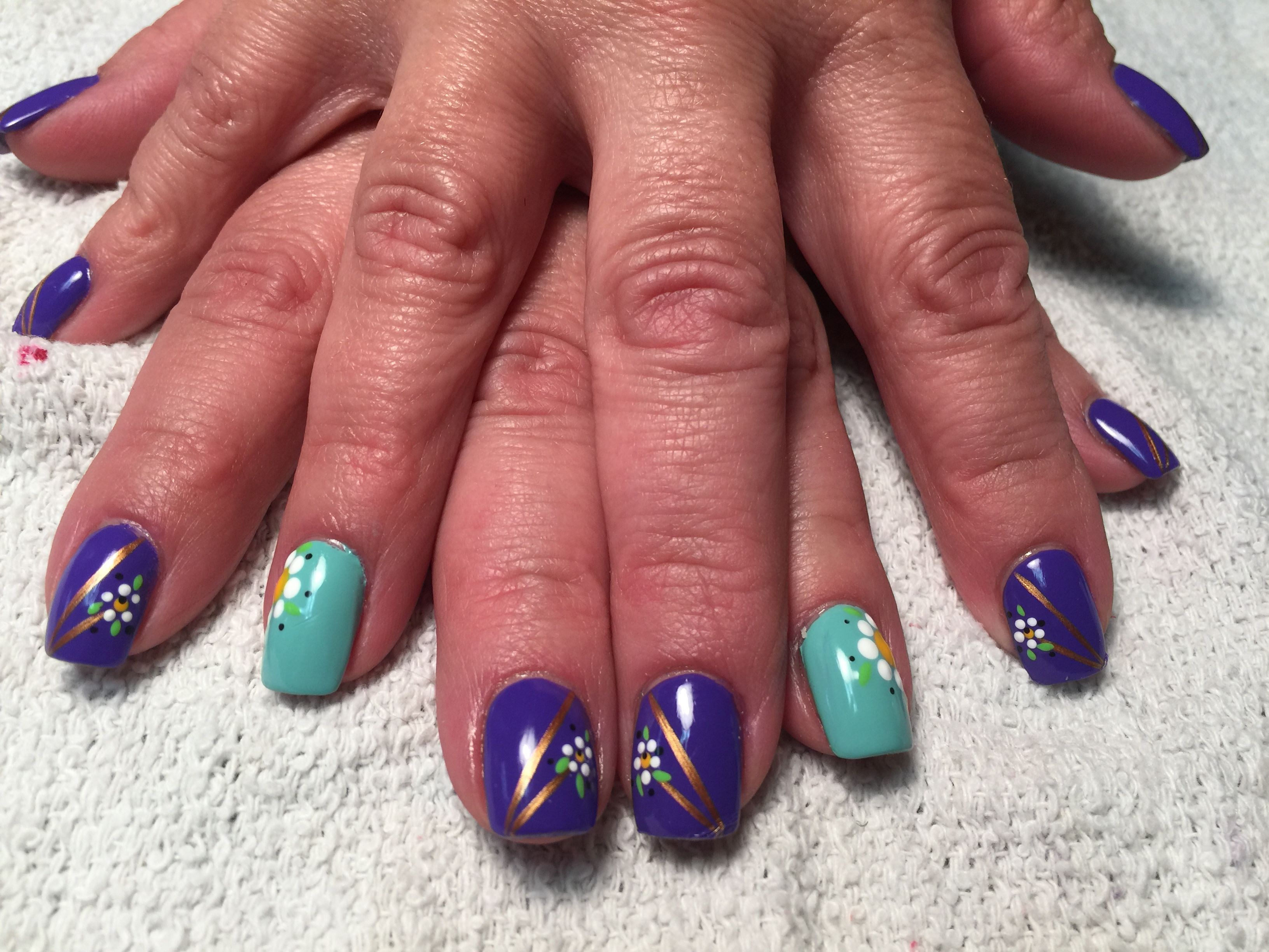Free hand nail art by penny brown miss lorrice nail art by penny