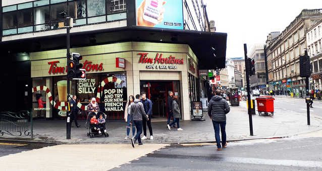 Tim Hortons Just Opened In Madrid And Spanish People Are Going Crazy