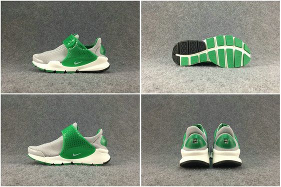 timeless design aaf6b b76c4 Chaussures pas cher course 2017 Summer Nike Sock Dart Wolf Grey Emerald  Green
