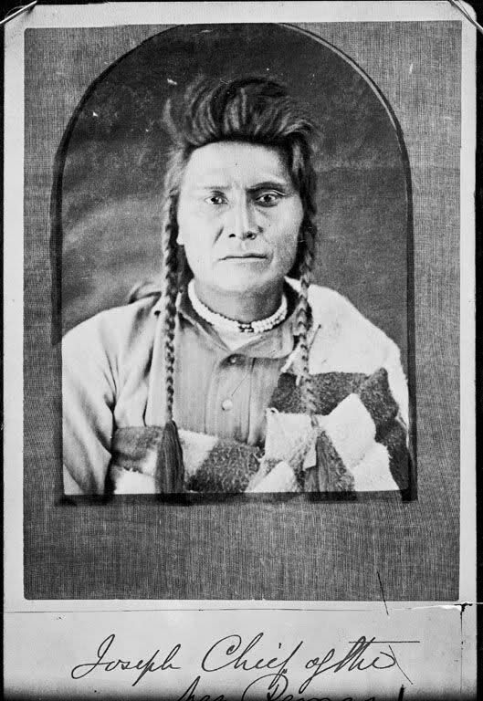 Photo of Although there are a number of photos of Chief Joseph posted in the thread Old N…
