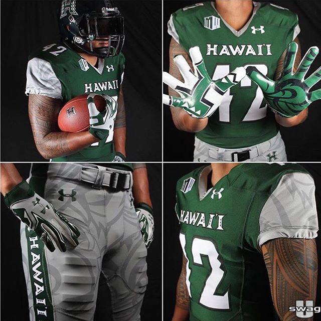 purchase cheap a1a8b 4daf4 University of Hawaii Rainbow Warriors 2015 home football ...
