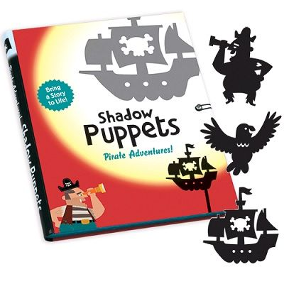 Pirate Adventure Shadow Puppet Set from Mudpuppy
