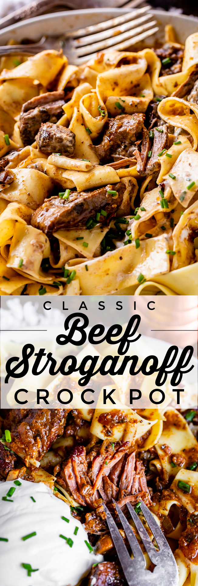 Classic Beef Stroganoff Recipe Crock Pot From The Food Charlatan This Is Not Your Average Beef Stro In 2020 Classic Beef Stroganoff Recipe Easy Stew Beef Stroganoff