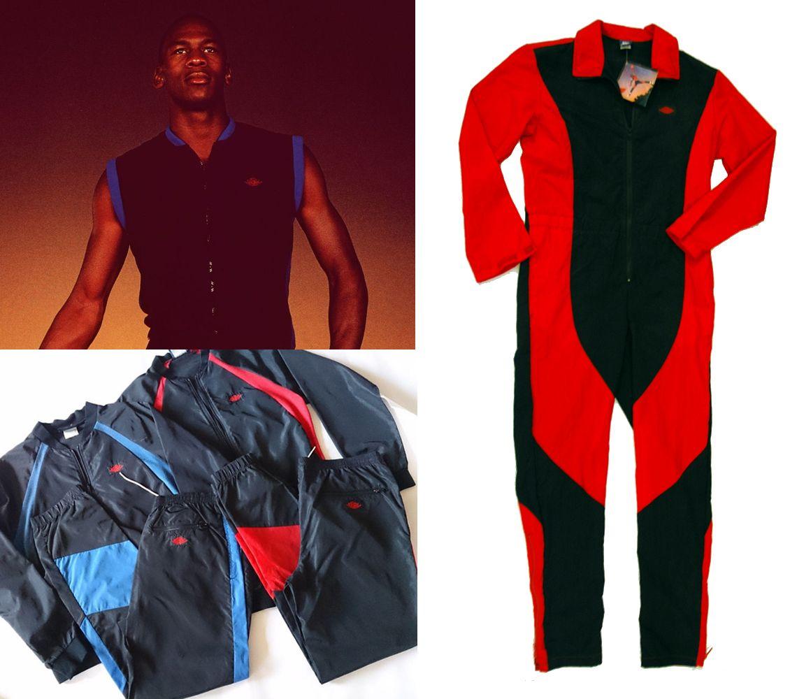 original air jordan flight suit