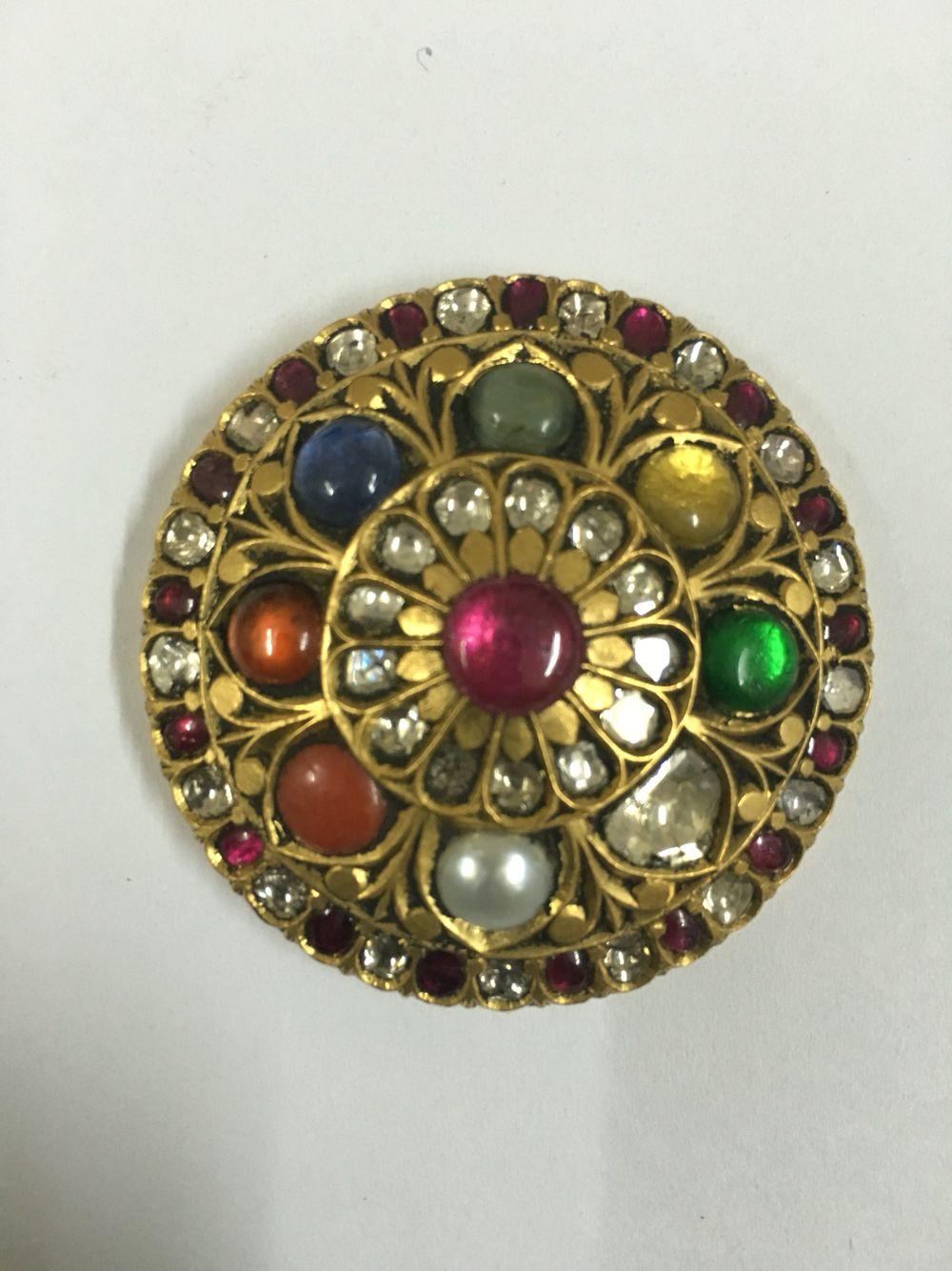 Navratan pendant karma jewels jadai in pinterest joyas
