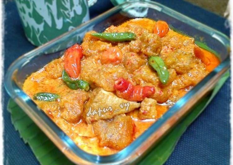 Resep Sambal Krecek Tahu Kulit Pendamping Gudeg Oleh Dapurvy Resep Makanan Pedas Masakan Resep Makanan Sehat