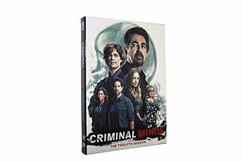 2017 NEW Criminal Minds Season 12 DVD 5 Disc set Region code