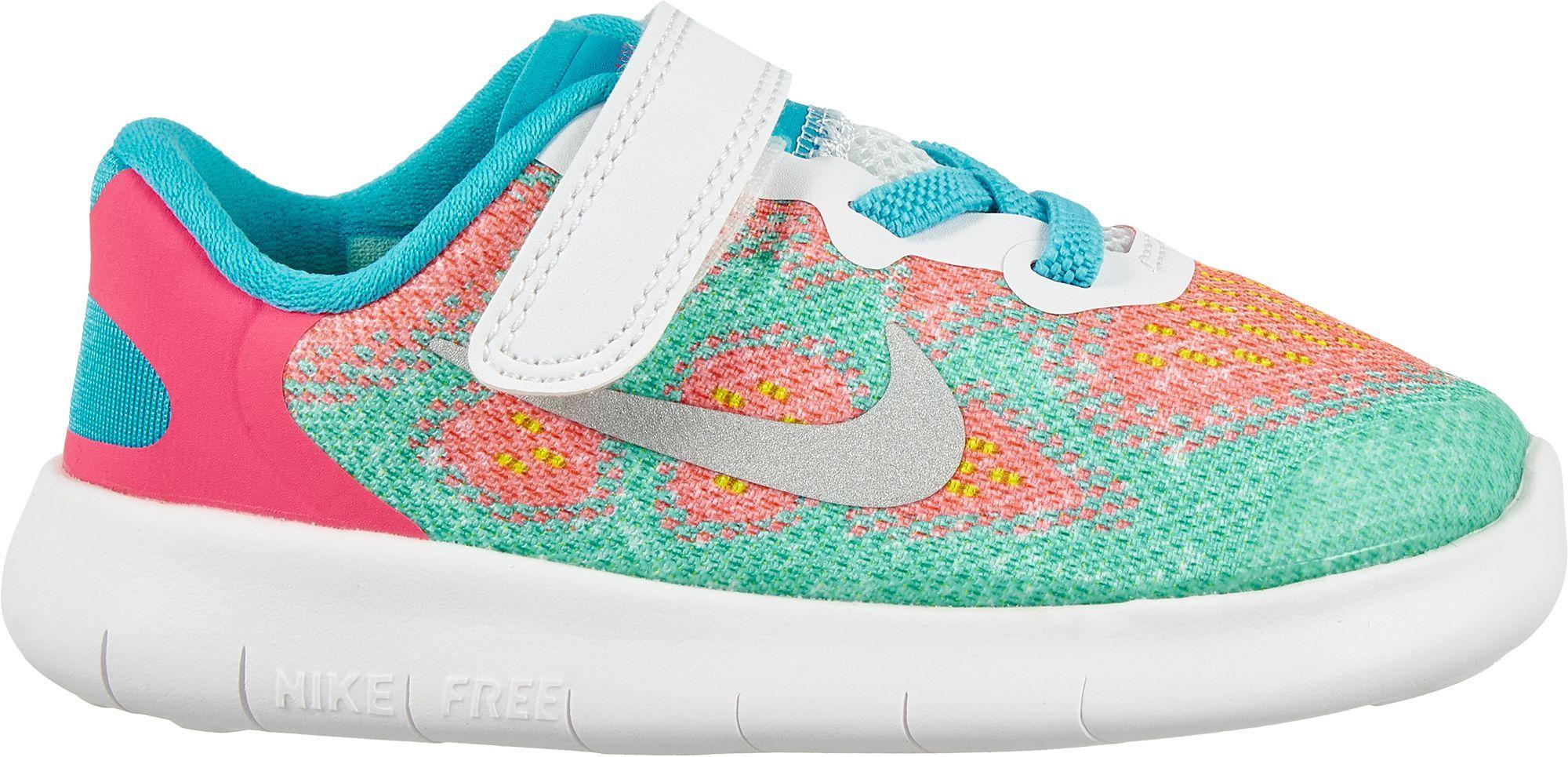 Nike Toddler Free RN 2 Running Shoes Toddler Boy s Size 4K Blue