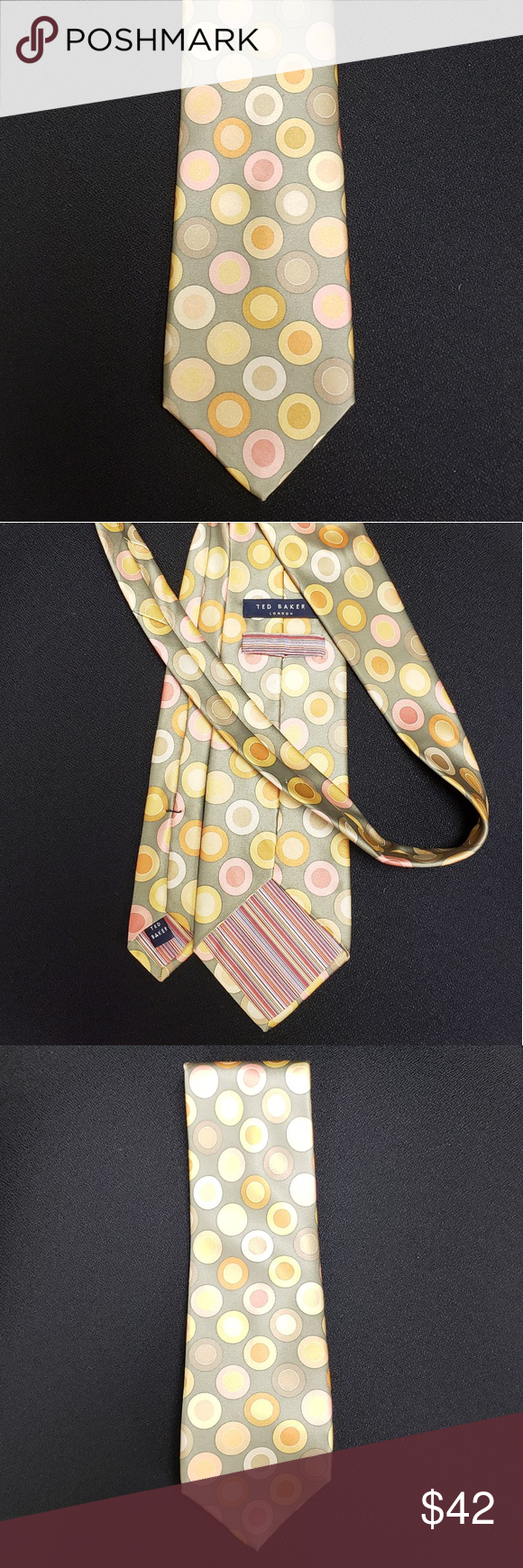 Men's Ted Baker London Pastel Dot Tie