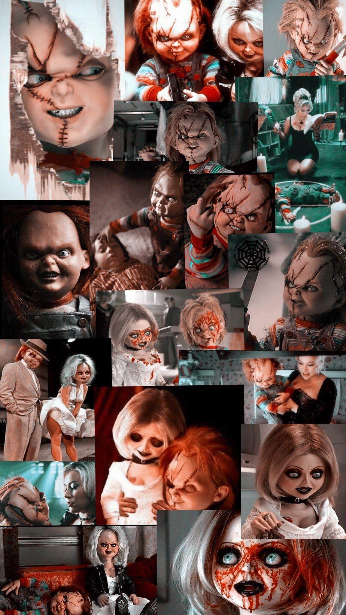 bride of chucky Bride of chucky, Clown horror, Chucky doll
