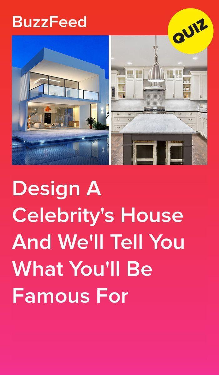 Photo of Entwerfen Sie das Haus einer Berühmtheit und wir sagen Ihnen, wofür Sie berühmt sein werden