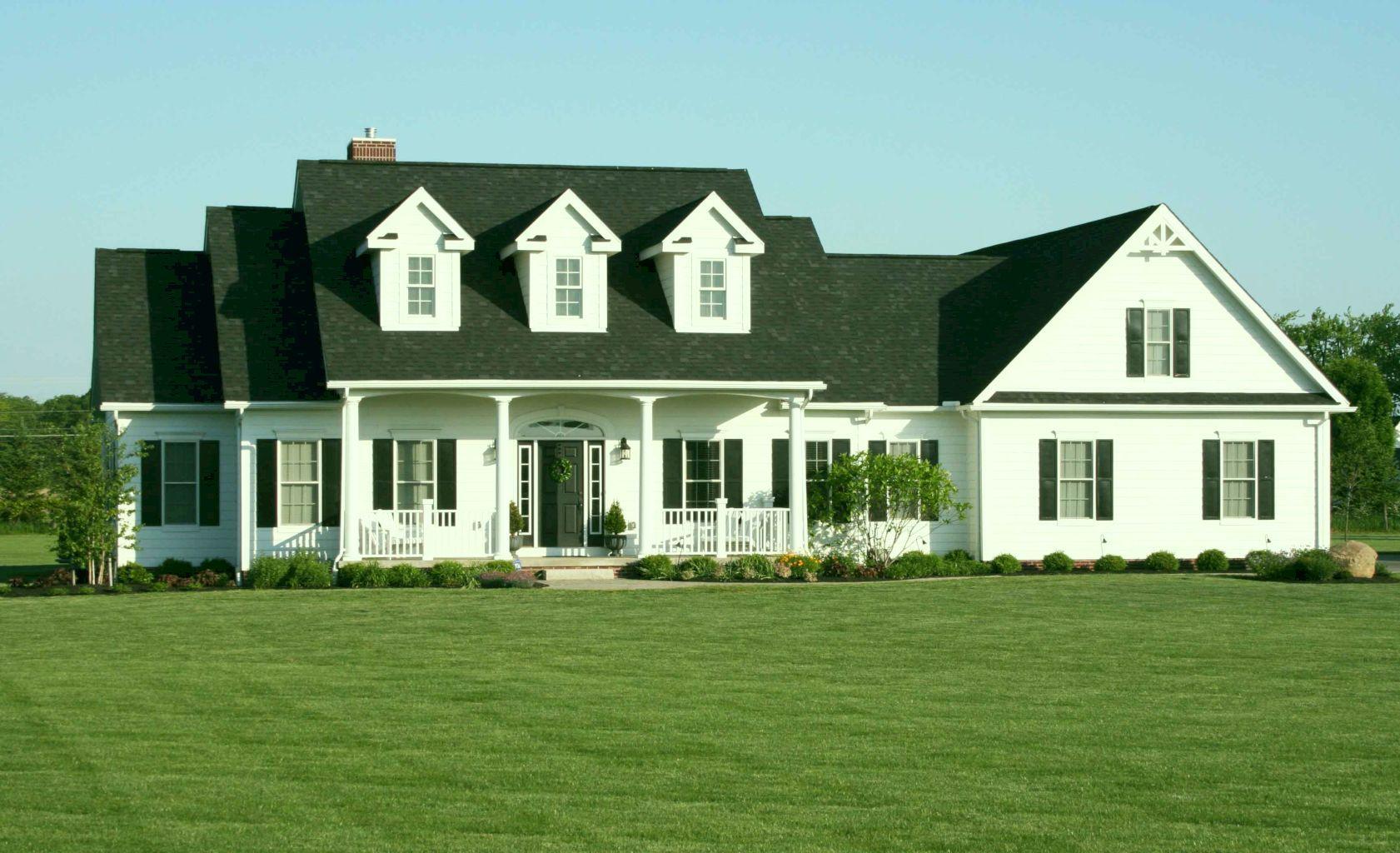 Cape Cod Exterior Ideas Part - 17: 50 Traditional Cape Cod House Exterior Ideas