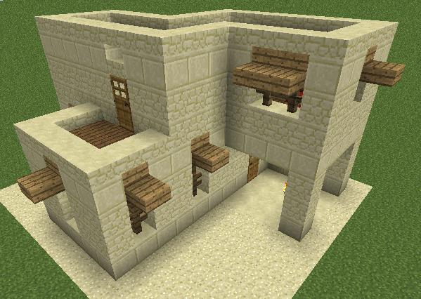 desert house minecraft maison minecraft minecraft et. Black Bedroom Furniture Sets. Home Design Ideas