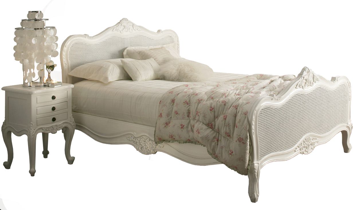 Provence Rattan White Wooden Bed Frame From Www Time4sleep Co Uk Cheap Bedroom Furniture Cheap Bedroom Furniture Sets Mattress Furniture