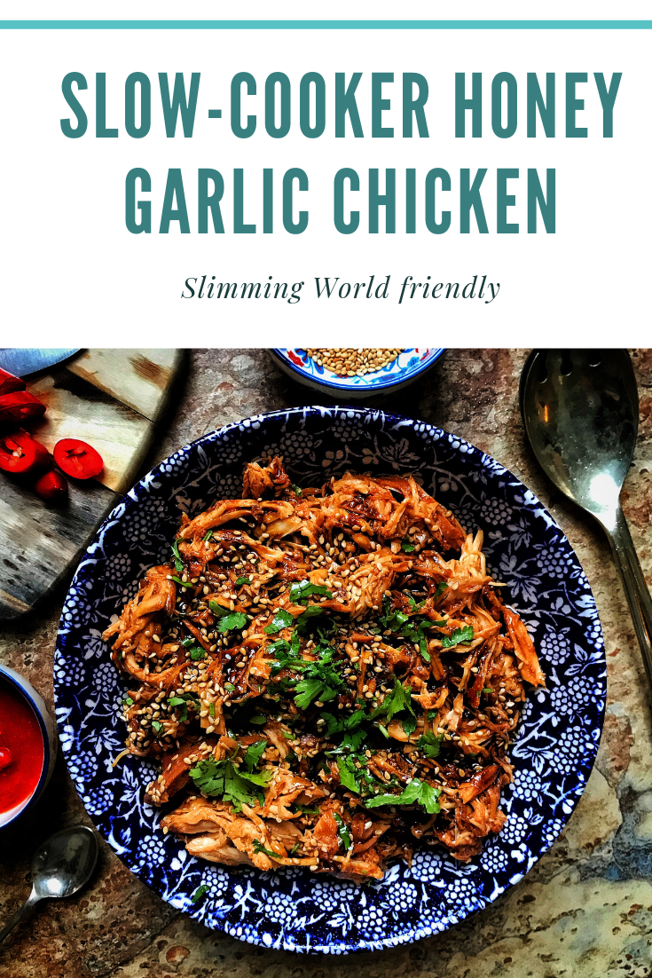 Slowcooker honey garlic chicken  The Slimming Foodie