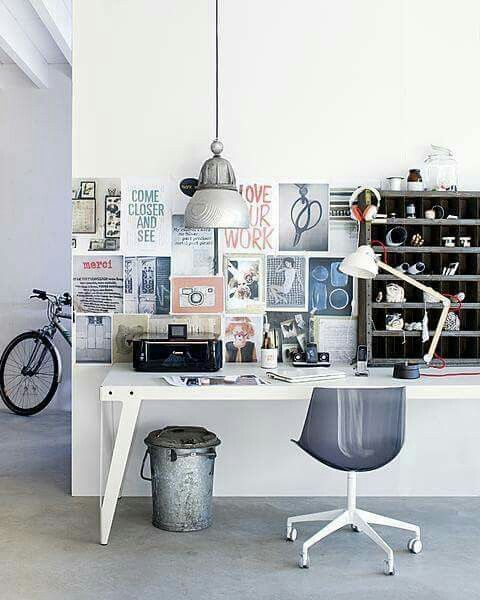 Small Space Homeoffice Corner Desk: Pin By Dana Mor On Workspaces