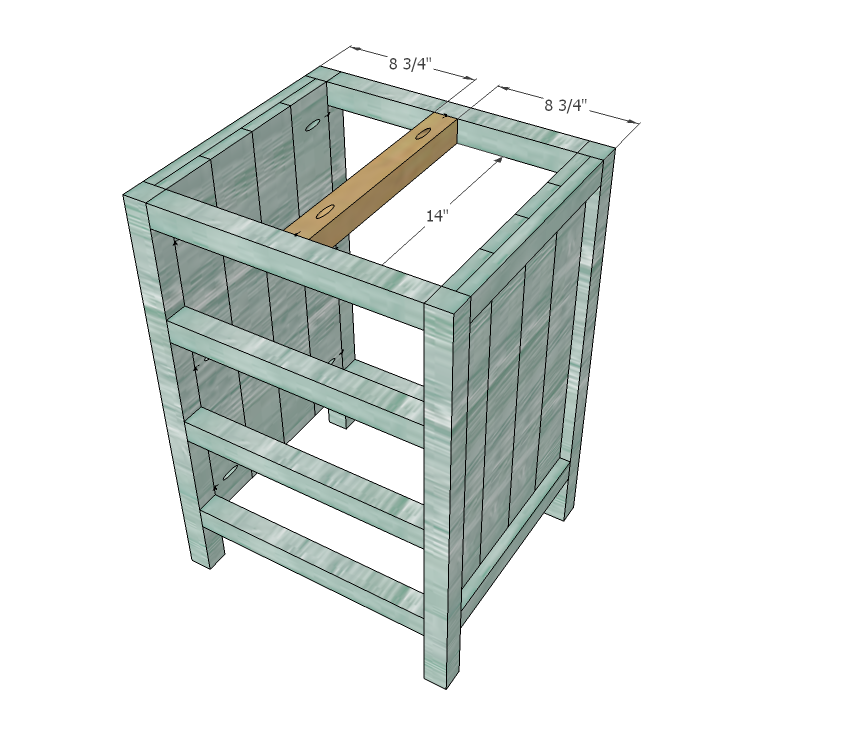 Best Reclaimed Wood Look Bedside Table Diy Dresser Plans Ana 400 x 300
