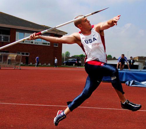 Olympic javelin throw