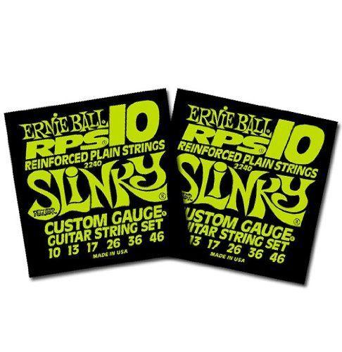 Ernie Ball 2240 Regular Slinky RPS 10 Electric Guitar Strings 10-46
