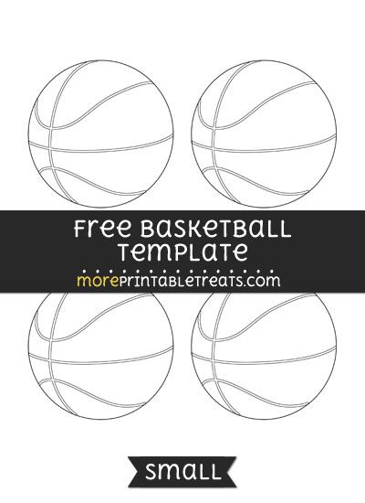 Free Basketball Template Small Free Basketball Templates