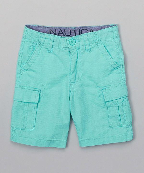 2282b6bcf Look at this Nautica Aqua Isle Ripstop Cargo Shorts - Boys on #zulily today!