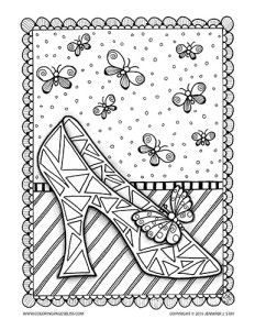 Character Coloring And Activity Pages Cinderella Coloring Pages
