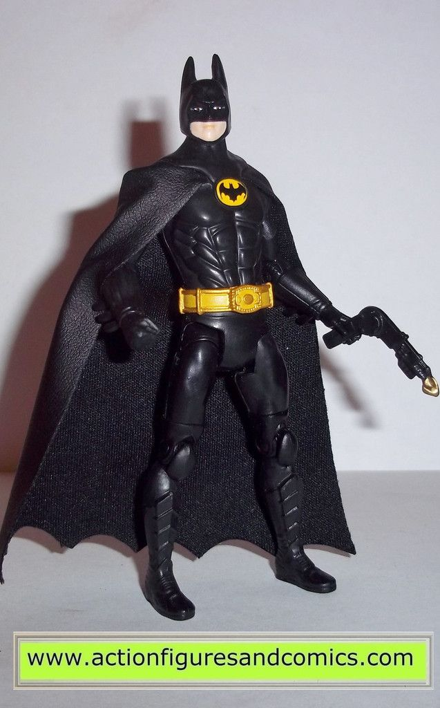 Mattel toys DC Universe MULTIVERSE / Infinite Heroes/ Crisis Action figures batman '89 movie MICHAEL KEATON BATMAN (UNMASKED vesion) 100% COMPLETE Condition: Excellent. Figure size: approx. 3.75 inch