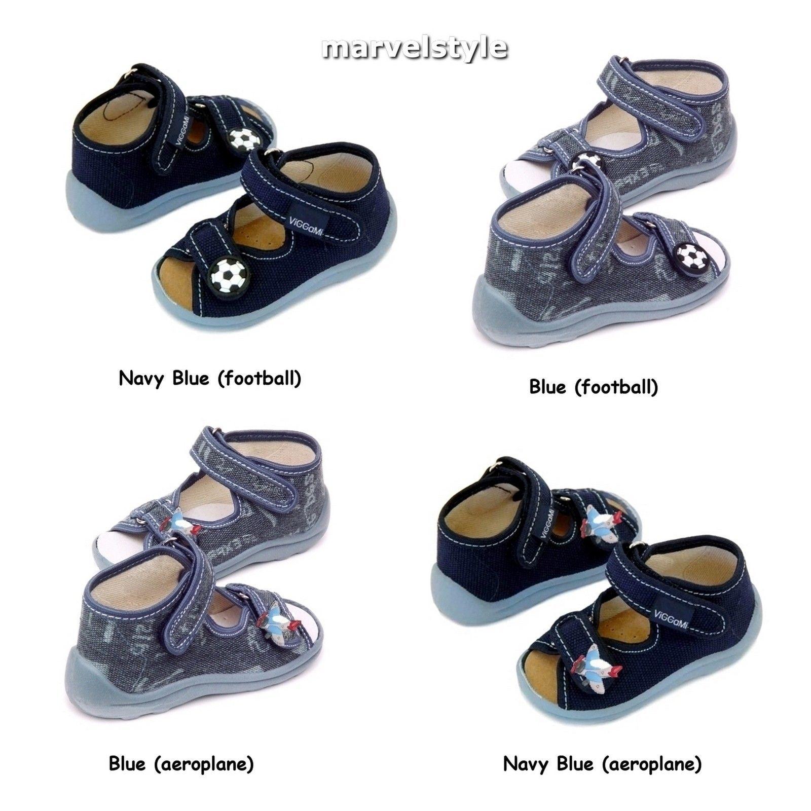 Baby Boys Canvas Shoes Sandals Walking Shoes Uk Size 3 8 Eu 20