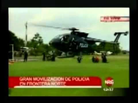 """El ejército tico disfrazado de """"Guardia Civil"""", la mentira de no tener ejército. - YouTube"""