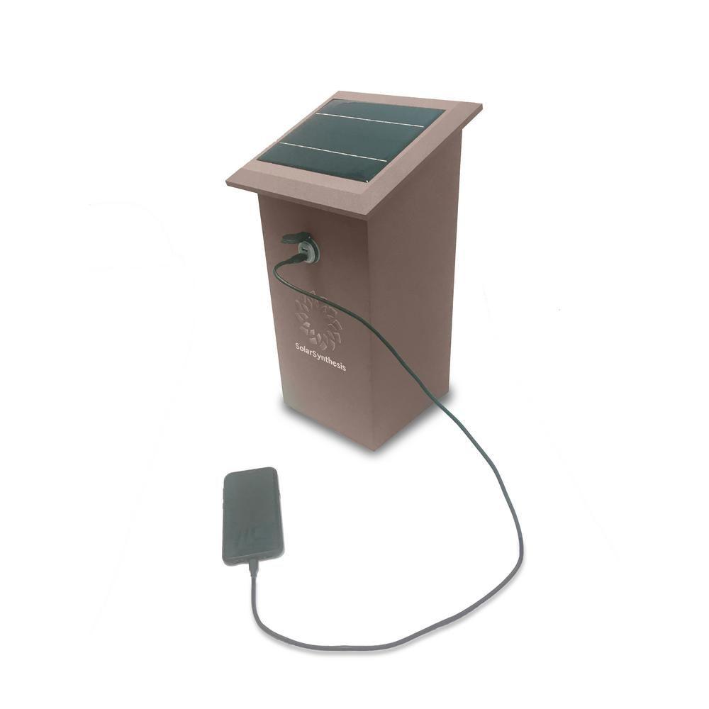 84 Watt 12 Volt Solar Powered Usb Charging Station 61225 07 Al Br Usb Charging Station Solar Power Charger Solar Power