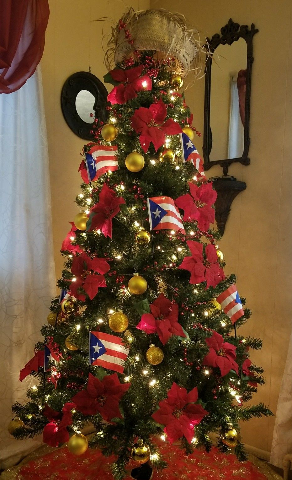 a tribute to puerto rico holiday tree christmas tree decorations holiday ideas holiday