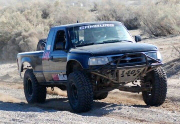 Ford Ranger front fiberwerx fiberglass fenders and bed sides | Pre