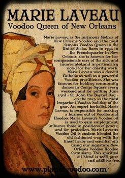 Marie Laveau Quotes : marie, laveau, quotes, Voodoo