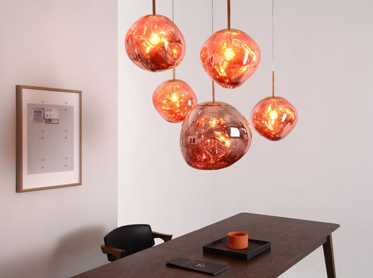 Tom Dixon Melt Mini Pendant Lamp Specification A Collaboration Between Leading British Designer T Pendant Light Rustic Pendant Lighting Glass Pendant Light
