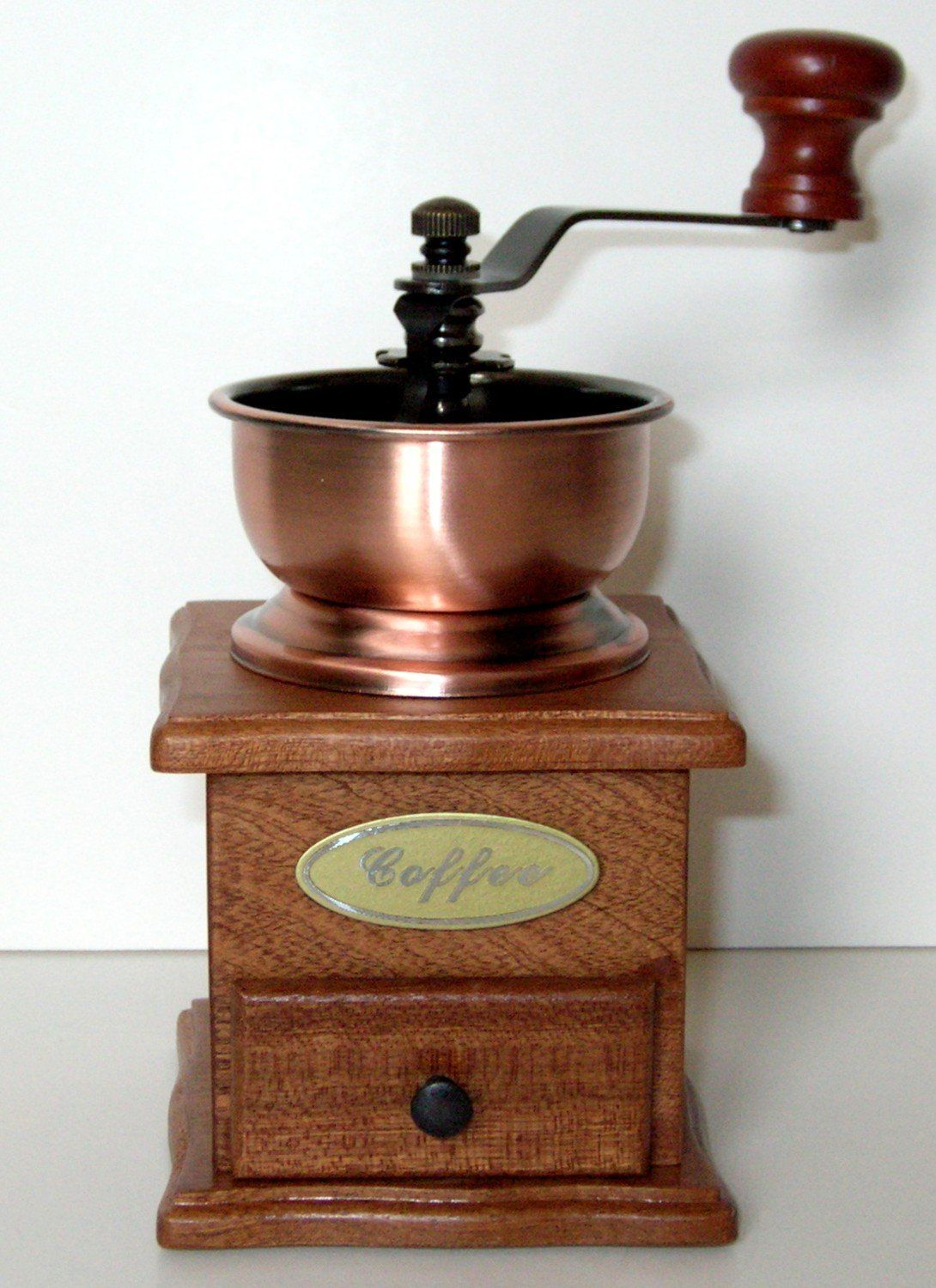 Rosewood Manual Coffee Grinder by Aztec _ Price 29.99