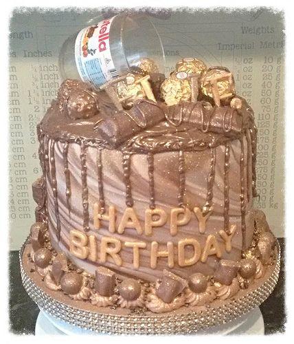 Nutella ® birthday cake - Elle - February 2017