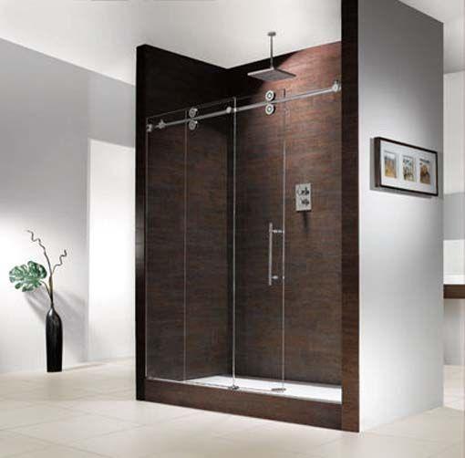 Industrial Bathroom Frameless Shower Doors Shower Doors Shower